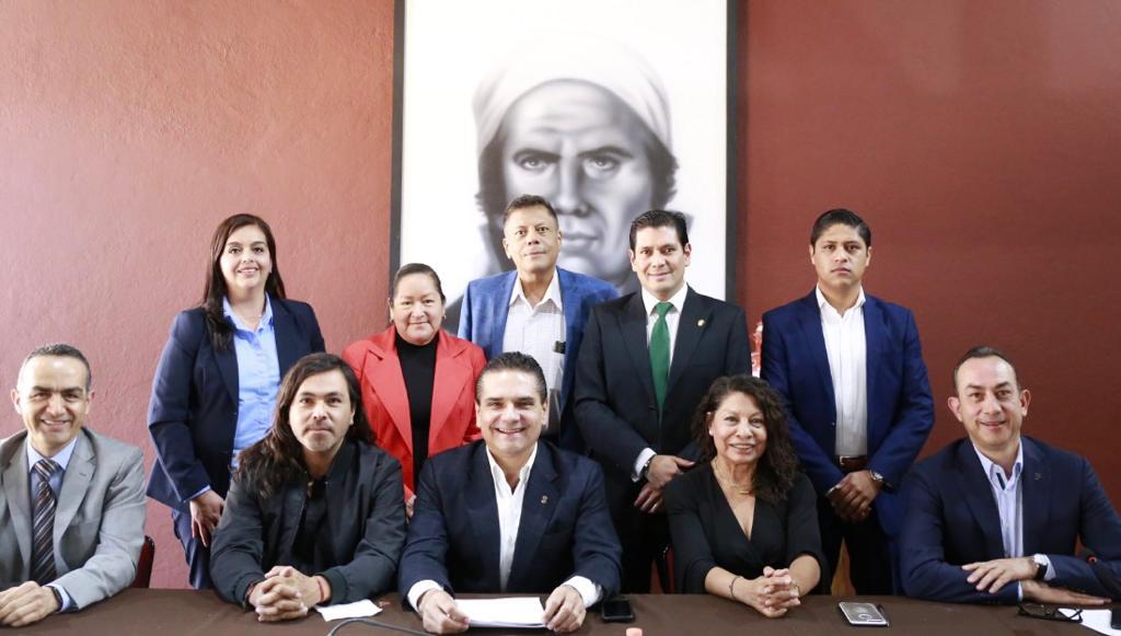 Cierran filas partidos políticos y Silvano Aureoles en favor de Michoacán