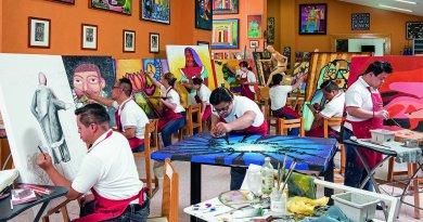 Impulsa fundación creatividad de personas con Síndrome de Down