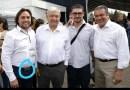 #RuidoEnLaRed Funcionario de Morelia recibe a AMLO con cinto de 10 mil pesos