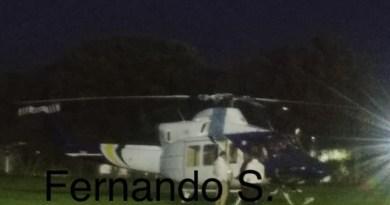 Tormenta obliga a helicóptero de Silvano Aureoles aterrizar de emergencia