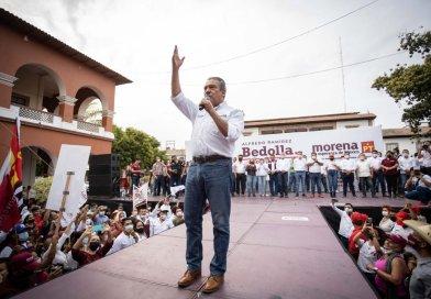 El cambio llegará a Michoacán el 6 de junio: Raúl Morón