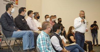 Bedolla presume recorrer 21 municipios en una semana, «tenemos fuerza para ganar» afirma
