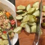 Tuna Salad With Dill Pickles & Dijon Mustard Dill Dressing