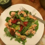 Herbaceous Ranch Dressing is sublime on salmon avocado salad.