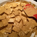 tofu with curry dressing