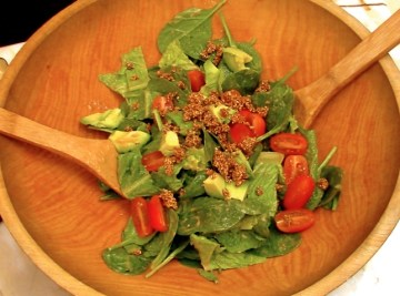 spicy sesame lover's salad