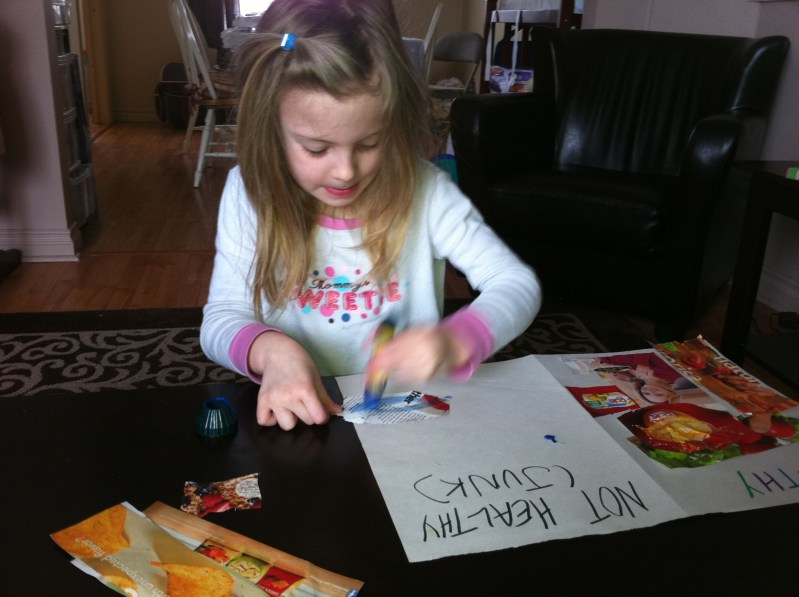 What's Healthier? A Project for Kids