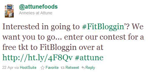 Why I Deserve to go to Fitbloggin'
