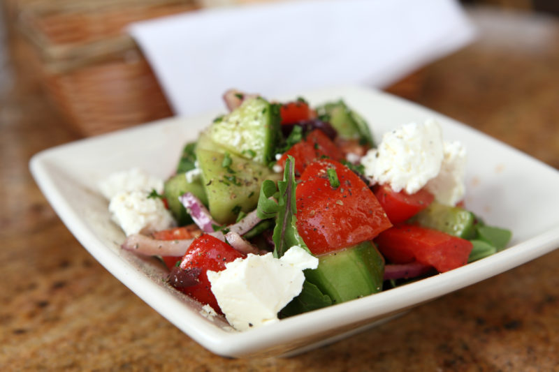 Food Friday: Cucumber, Tomato and Feta Salad