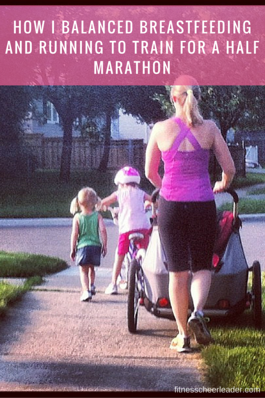 How I Balanced Breastfeeding and Running to Train for a Half Marathon