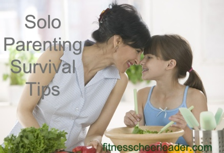 Solo Parenting Survival Tips