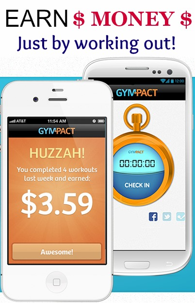 Join Me on GymPact and Earn Money By Working Out