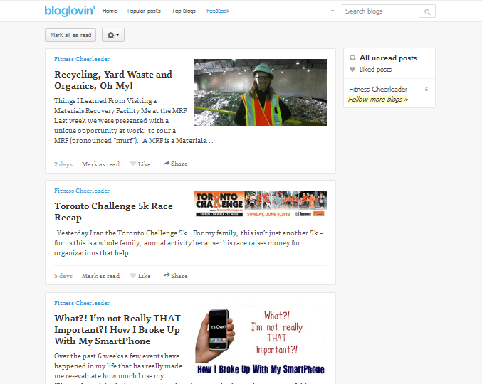 Bye Bye Google Reader, Hello Bloglovin '!