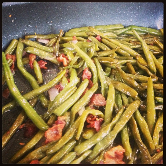 Sauteed Green Beans and Other Things I Ate Last Week #WIAW