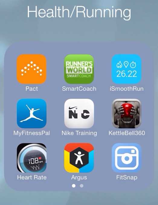 My Favourite Health and Fitness Apps