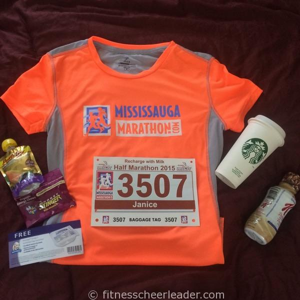 Mississauga Recharge with Milk Half Marathon Race Recap
