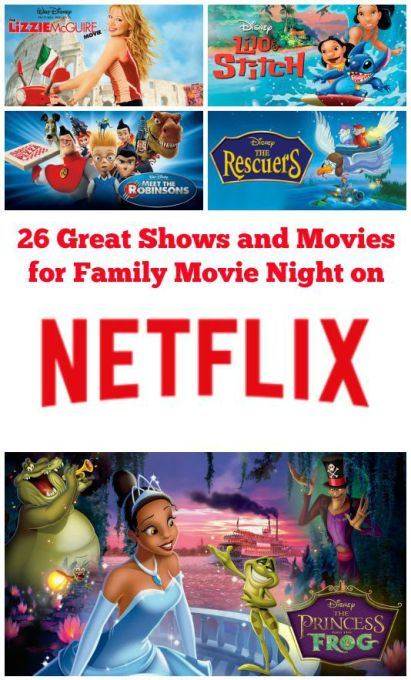 26 Great Shows and Movies for Family Movie Night