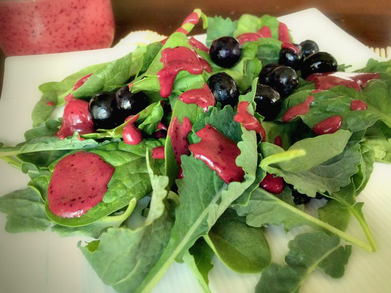 Weekend Recap + Blueberry Balsamic Vinaigrette Salad Dressing Recipe #MotivateMe