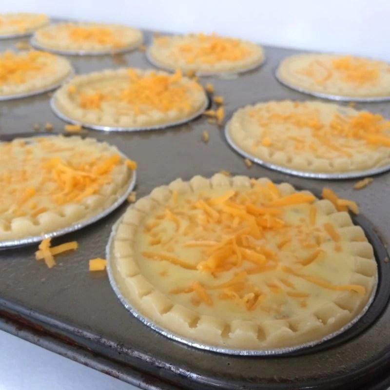 Mini Spinach and Cheese Quiche Recipe + Progress Update #MotivateMe Monday
