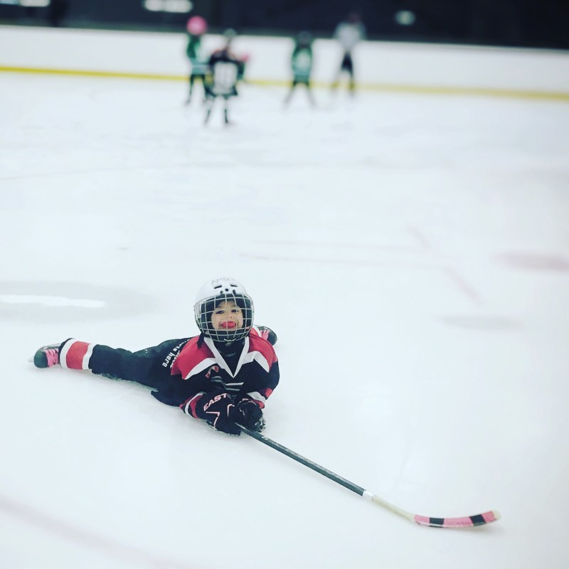 A Weekend of Hockey Fun + #MotivateMe Monday
