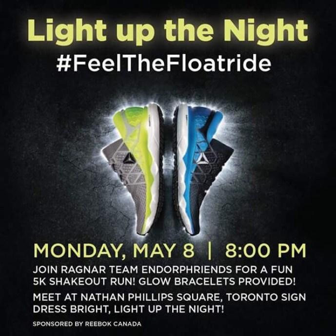Light up the Night Float Run