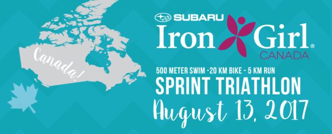 2017 Iron Girl Canada Sprint Triathlon