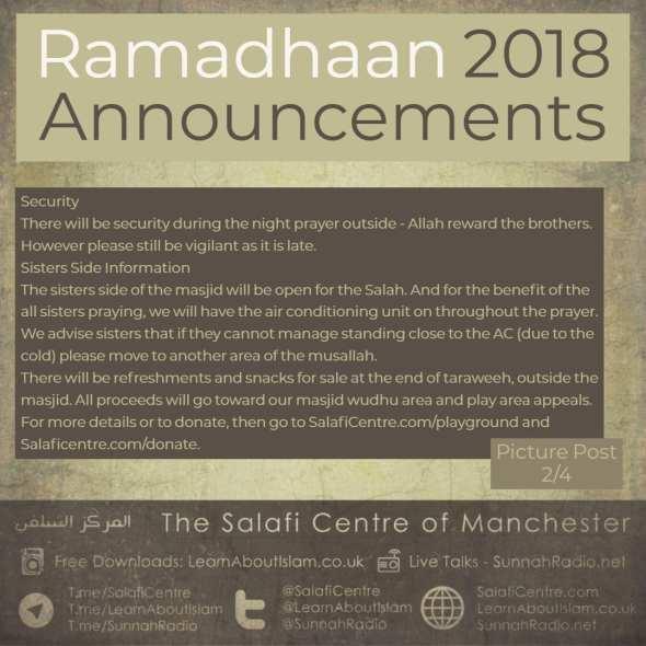 Ramadhaan 2018 (1)
