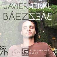 Javi Báez - Cartel de uno de sus conciertos