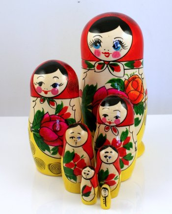 Russian Doll Set 7 pieces