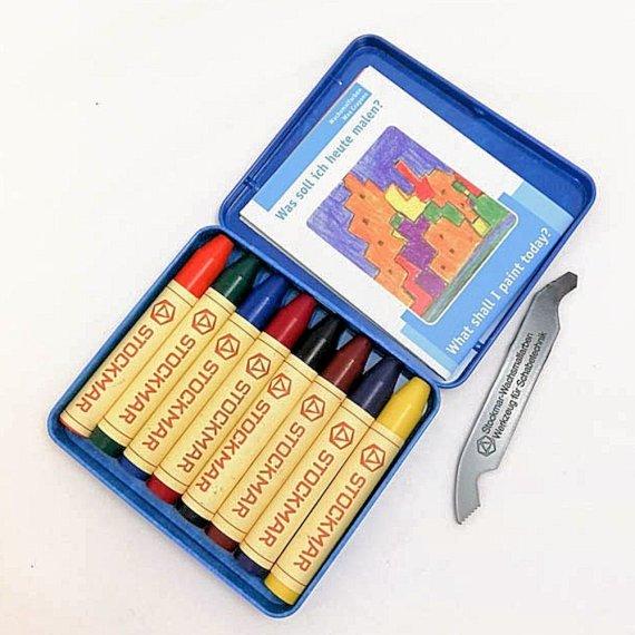 Stockmar Crayon Sticks Set of 8