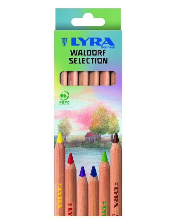 Lyra Super Ferby Waldorf Selection 6 pack