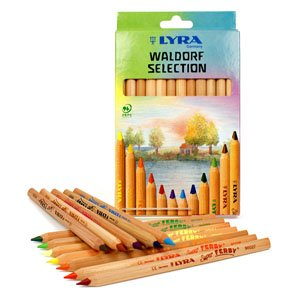 Lyra Super Ferby Waldorf Selection Pencils - Set of 12