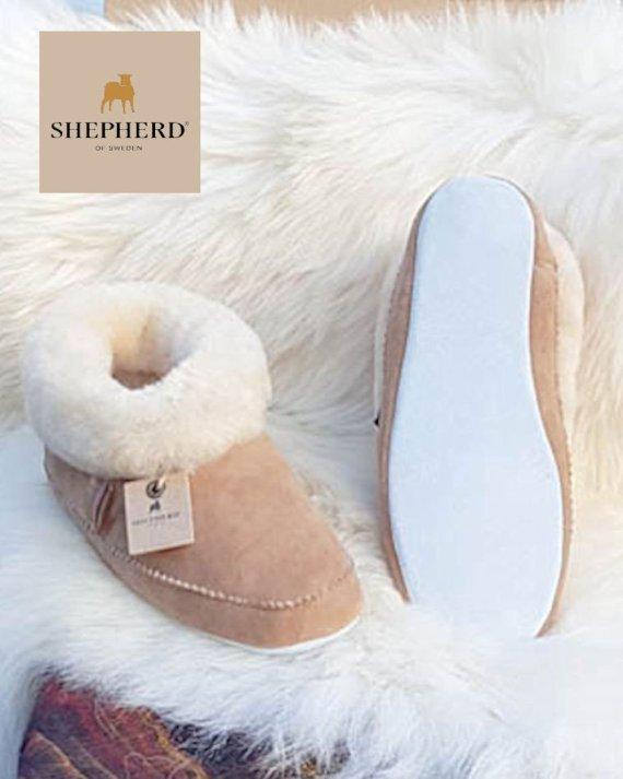 Shepherd slipper Emmy Chestnut