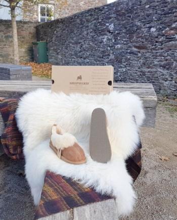 Shepherd slipper Ladies Karin Chestnut
