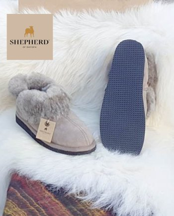 Shepherd slipper Ladies Karin stone