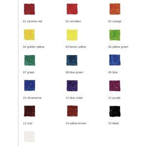 16 block set colours