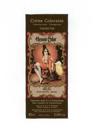 Henna Brown colouring cream