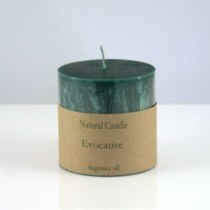 Evocative Pillar Candle