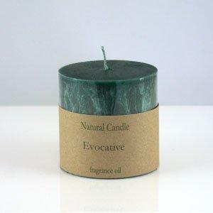 Evocative Pillar Candle