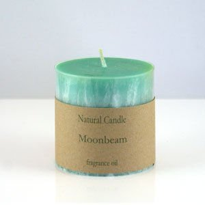 Moonbeam Pillar Candle