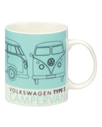 VW Campervan Tech Drawing Mug