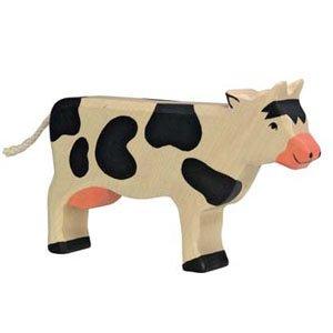 Holztiger Black Cow Standing