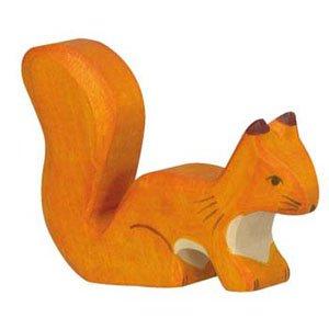 Holztiger Orange Squirrel Standing