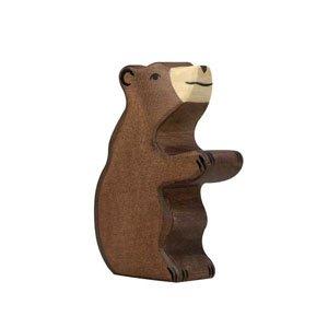 Holztiger Bear Small Sitting