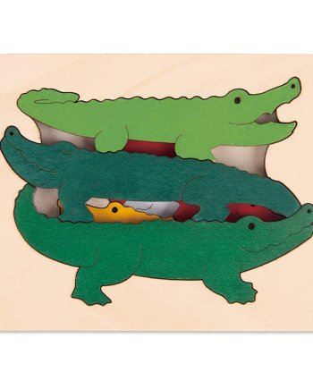 Crocodiles Puzzle by George Luck