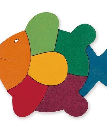 rainbow fish puzzle