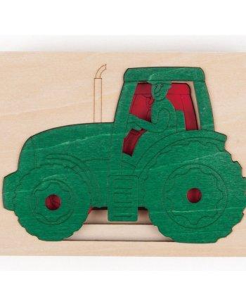 five tractors puzzle