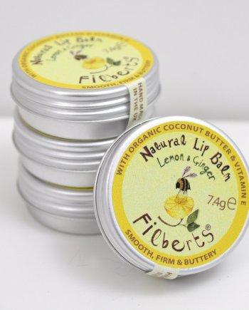 Filberts Bees Lemon & Ginger Lip Balm