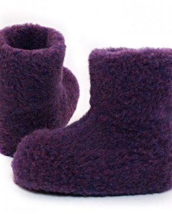 Yoko Standard Wool Booties - Violet