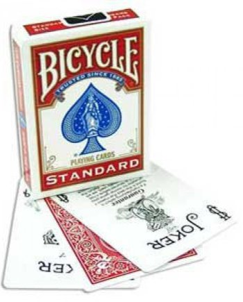 Bicycle Playing Cards Standard Red
